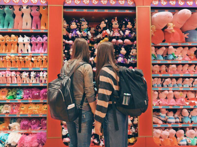 negozio giocattoli